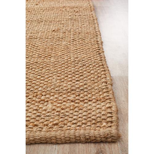 Natural Fiber Basket Weave Rug
