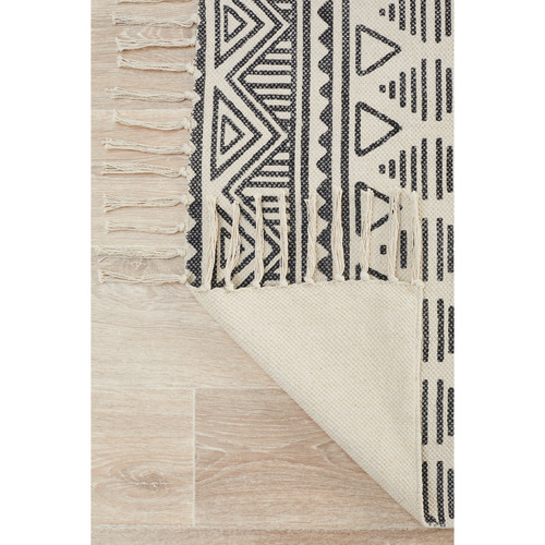 Network Rugs Hicks Hand Loomed Flatweave Pure Cotton Rug
