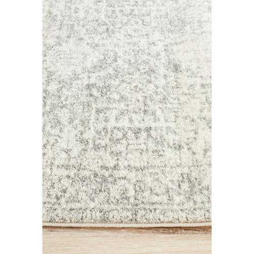Network Rugs White & Silver Art Moderne Cezanne Runner