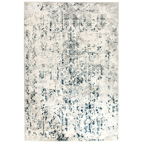 Network Rugs White Kendra Power Loomed Rug