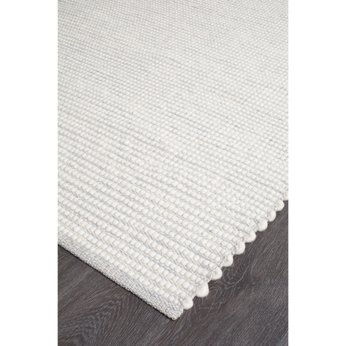 Network Rugs Grey & White Felted Wool Scandi Rug