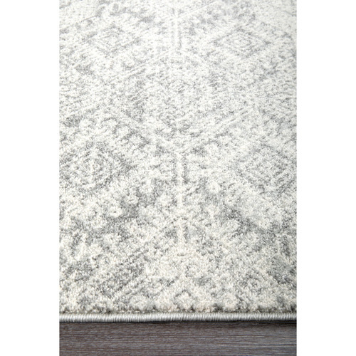 Network Rugs Urmia Silver Power Loomed Modern Rug