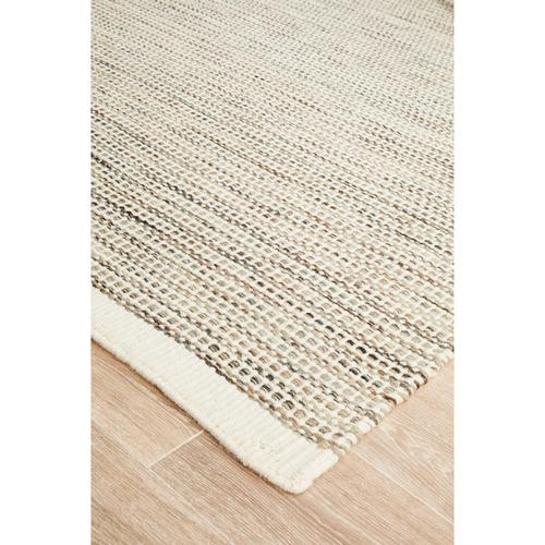 Network Rugs Natural Mani Scandinavian Pure Wool Rug