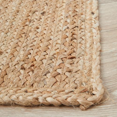 Network Rugs Natural Hand-Braided Jute Rug