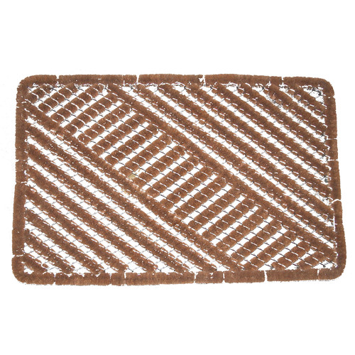 Solemate Door Mats Coir Wire Door Mat