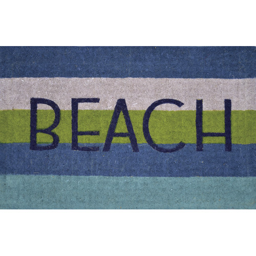 Solemate Door Mats FM2 Coir Beach striped