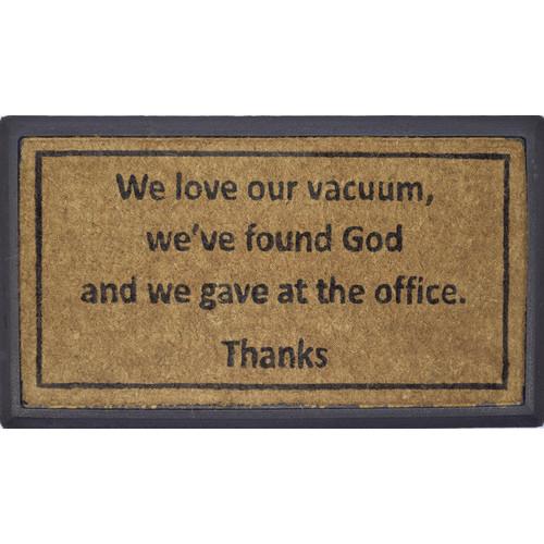 Solemate Door Mats R/C Love Vacuum