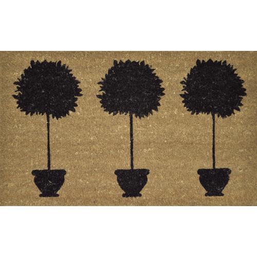 Solemate Door Mats PVC Back Coir Three Tree
