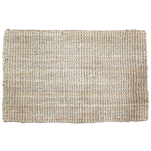 Gold Varius Hand-Woven Jute Doormat