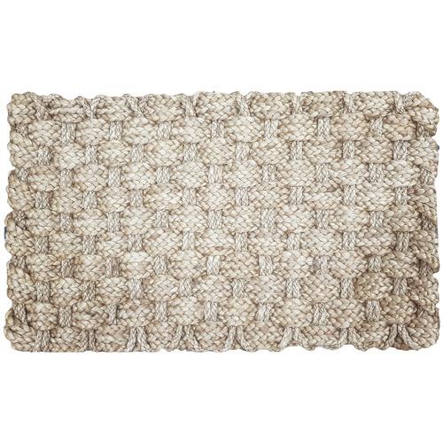 Solemate Door Mats Elba Hand-Woven Jute Rope Doormat
