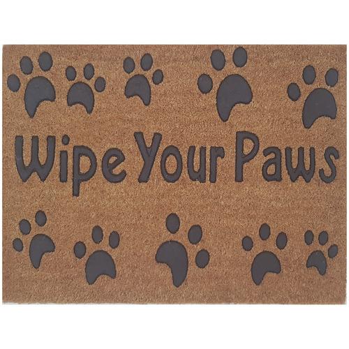 Solemate Door Mats Wipe Your Paws Coir Doormat