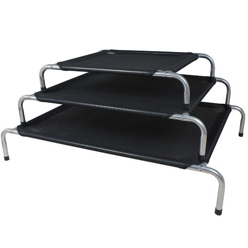 Prestige Pet Products Black Elevated Pet Bed