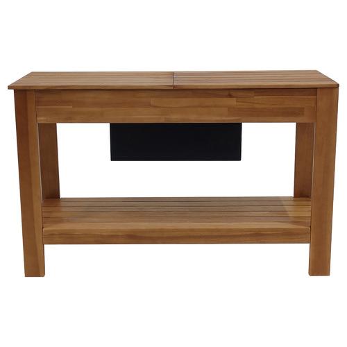 Hartman Malibu Wooden Outdoor Bar Table with Storage