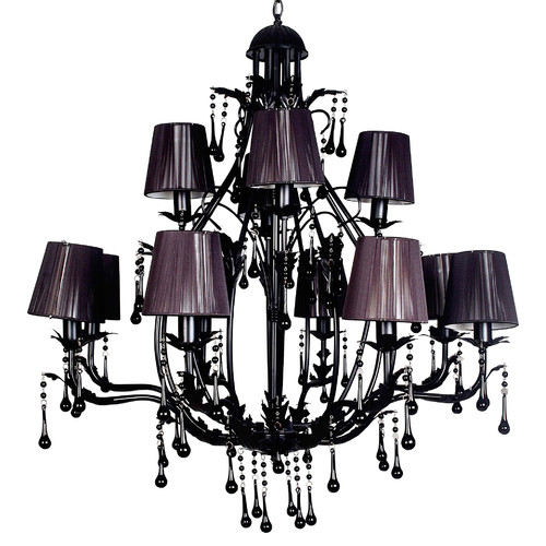 V & M Imports Florence 8 and 4 Light Chandelier