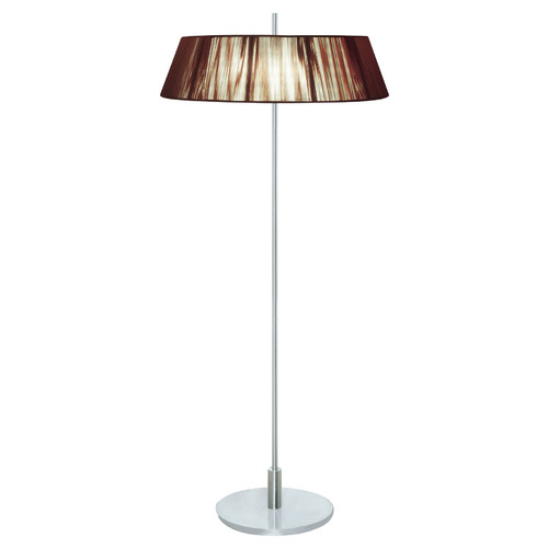 V & M Imports Paolo Two Light Floor Lamp