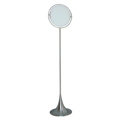 Solar floor lamp in white temple webster v amp m imports solar floor lamp aloadofball Images