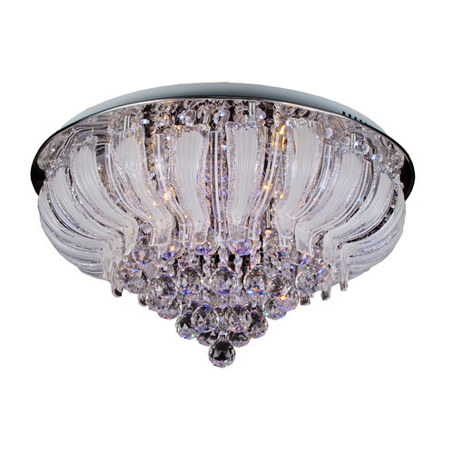 V & M Imports Stella LED Flush Chandelier