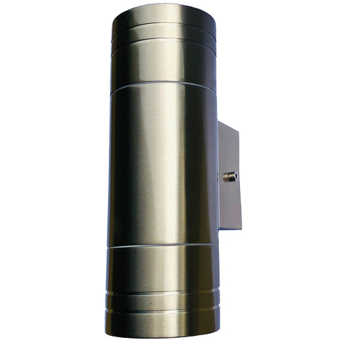 V & M Imports Rowan Up/Down Stainless Steel Exterior Wall Light
