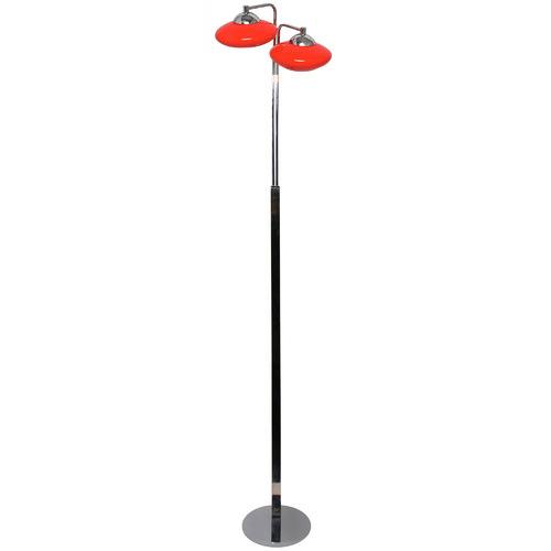 UFO Two Light Floor Lamp