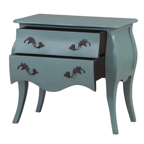 Elegant Designs Tuscany Mahogany Bedside Cabinet