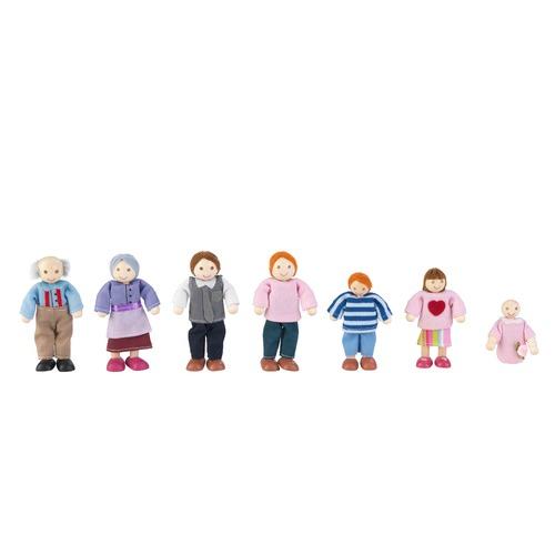 KidKraft Doll House Family
