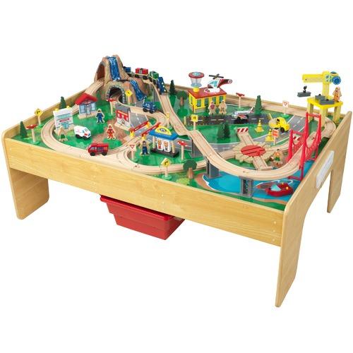 Adventure Town Railway Train Set & Table