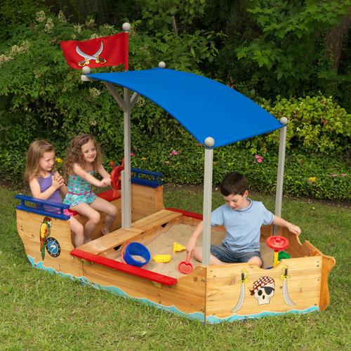 Pirate Boat Sandbox