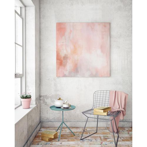 A La Mode Studio Peachy Keen Canvas Wall Art