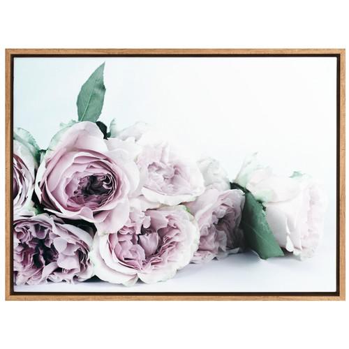 A La Mode Studio Everlasting Flora Canvas Wall Art