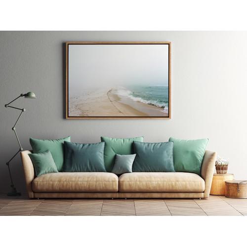 A La Mode Studio Infinite Beach Stretch II Canvas Wall Art