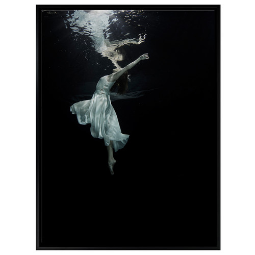 A La Mode Studio Weightless Ballerina Canvas Wall Art