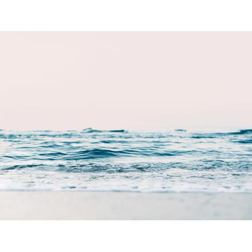 A La Mode Studio Gazing Over The Ocean Edge Canvas Wall Art