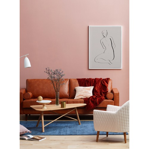 Feminine Lines II Canvas Wall Art | Temple & Webster