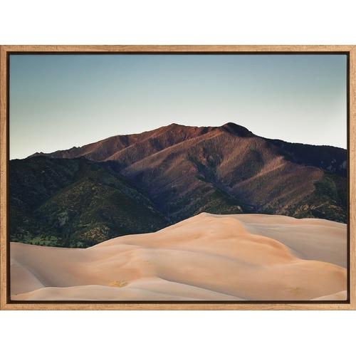 Desert Peaks Canvas Wall Art