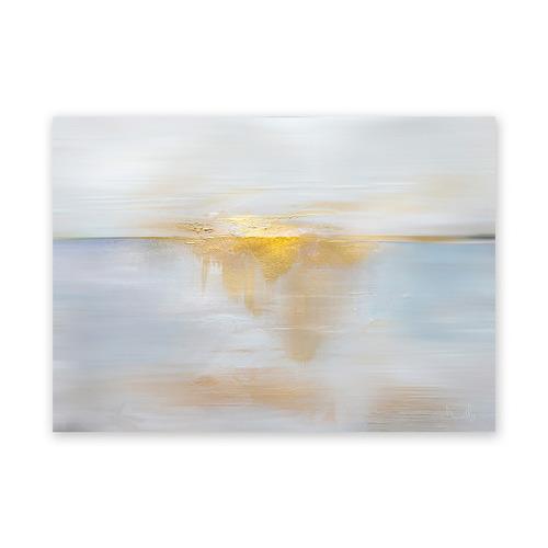 A La Mode Studio Sea Sun Canvas Wall Art