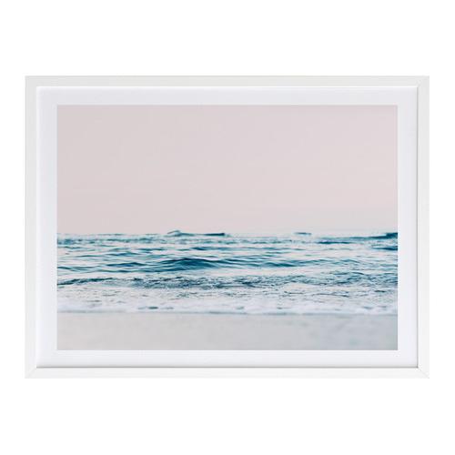 A La Mode Studio Gazing Over The Ocean Edge Printed Wall Art