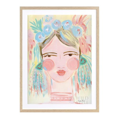 A La Mode Studio Magdalena Printed Wall Art
