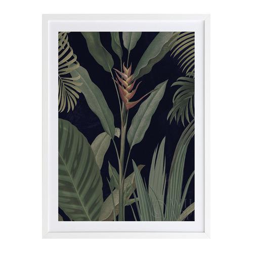 A La Mode Studio Dark Flora II Printed Wall Art