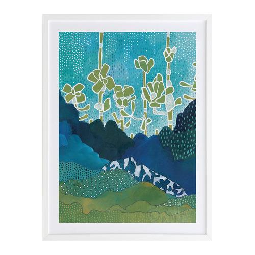 A La Mode Studio Sea of Succulents I Printed Wall Art