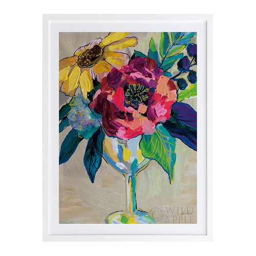 A La Mode Studio Bright Blossoms III Printed Wall Art