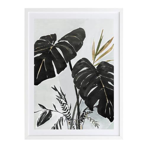 A La Mode Studio Midnight Tropics I Printed Wall Art