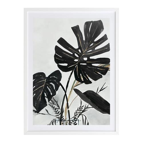 A La Mode Studio Midnight Tropics II Printed Wall Art