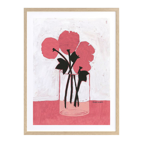 A La Mode Studio Pretty In Pink I Printed Wall Art