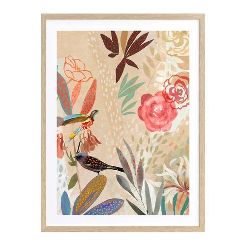 A La Mode Studio Birdsong II Printed Wall Art