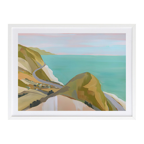 A La Mode Studio Coastal Drive Printed Wall Art