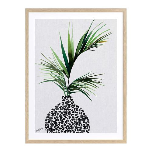 A La Mode Studio Jungle Palm Printed Wall Art