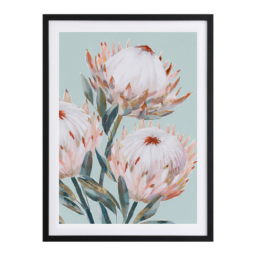 A La Mode Studio Pastel Waratah II Printed Wall Art