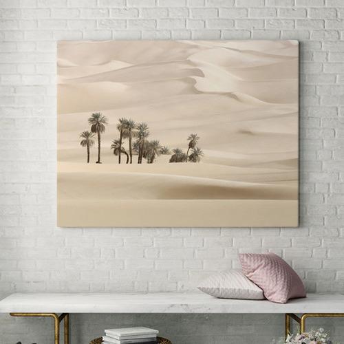 Sweet Mirage Desert Palms Canvas Wall Art