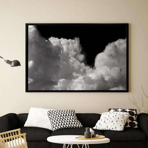 Tuft & Fluff Clouds Canvas Wall Art