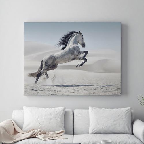 Running Leap Horse Canvas Print
